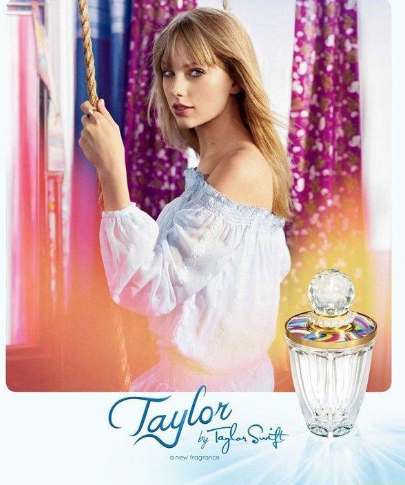 Тейлор Свифт выпускает свой третий аромат