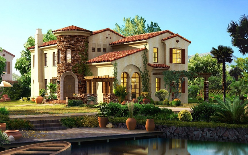 Как построить действительно красивый дом?