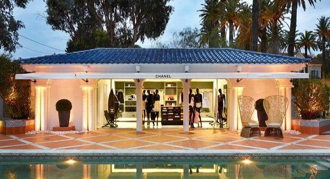 Chanel снова открыли временный бутик в Сен-Тропе