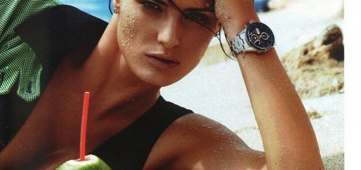 Изабели Фонтана в журнале Vogue Париж Июнь / Июль 2013