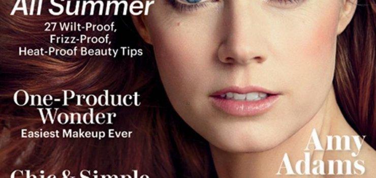 Эми Адамс на обложке журнала Allure. Июль 2013