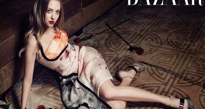 Аманда Сейфрид на страницах журнала Harper's Bazaar Корея. Июль 2013