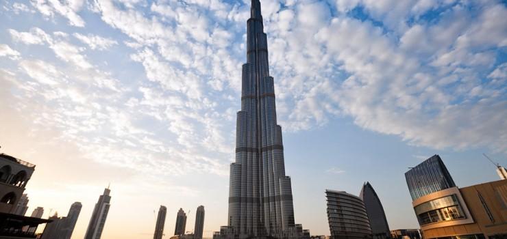 Небоскрёб Бурдж Халифа в Дубай
