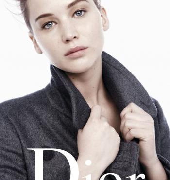 Дженнифер Лоуренс в рекламной кампании Dior. Осень / Зима 2013-2014