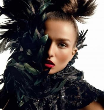 Андреа Диакону для Vogue Paris Октябрь 2013
