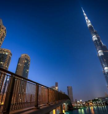 Самый большой небоскреб в мире - Бурдж-Халифа
