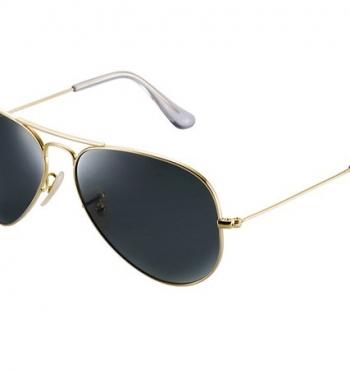 Ray-Ban выпускает новые солнцезащитные очки «Авиатор» из 18-каратного золота