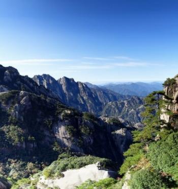 Горы Хуаншань в китайской провинции Аньхой