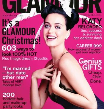 Кэти Перри в журнале Glamour Великобритания Декабрь 2013