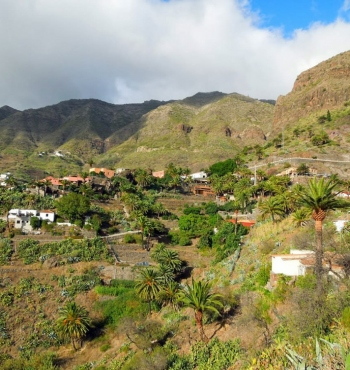 Живописное ущелье Маска на острове Тенерифе
