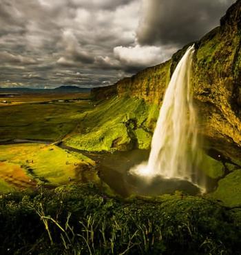Фото дня: Водопад Селйяландсфосс, Исландия