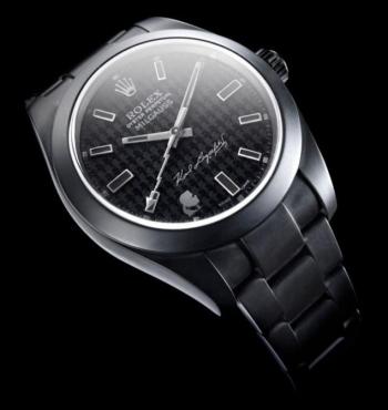 Карл Лагерфельд и Bamford Watch Department поработали над дизайном часов Rolex Oyster Perpetual Milgauss