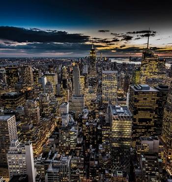 Top of the Rock - лучшая смотровая площадка Нью-Йорка