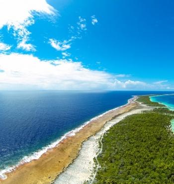 Тропический остров Ахе, Французская Полинезия