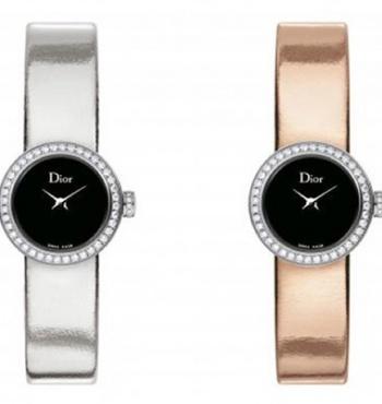 Новые элегантные часы Mini D Miroir от Dior