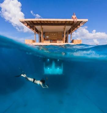 Отель The Manta Resort – уникальное место для любителей подводного мира