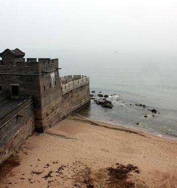 Лаолонгтоу - место, где заканчивается Великая китайская стена