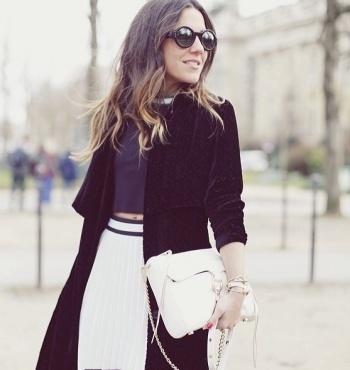 Streetstyle парижской недели моды