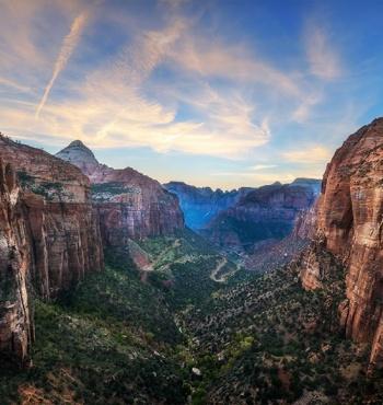 Национальный парк Зайон в США