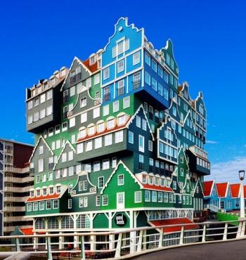 Необычный отель Inntel Hotel в Нидерландах