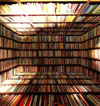 Книжные полки британцев все еще полны литературы