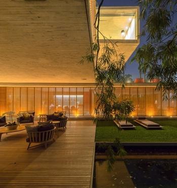 Шикарный особняк в Сан-Паулу, созданный архитектором Марсио Коганом