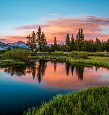 Фото дня: Закат в парке Йосемити