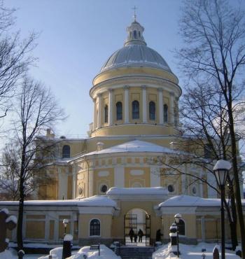 Александро-Невская лавра в Питере